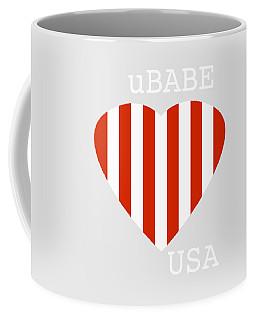 uBABE USA Coffee Mug