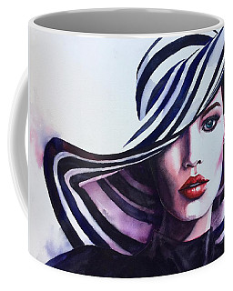Coffee Mug featuring the painting Unapologeticly Herself by Michal Madison