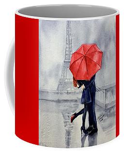 Under A Red Umbrella Coffee Mug