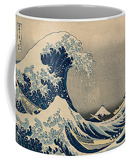 Under The Wave Off Kanagawa, Also Known As The Great Wave Coffee Mug