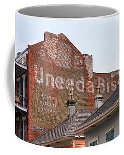 Uneeda Biscuits Ghost Sign Coffee Mug