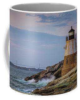 Unfazed By The Encroaching Sea Coffee Mug