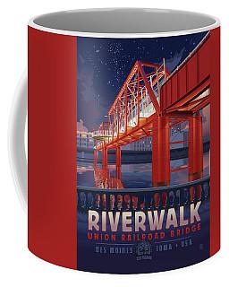 Union Railroad Bridge - Riverwalk Coffee Mug