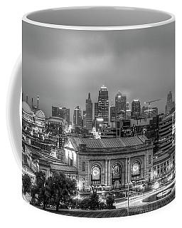 Union Station Sunrise 2 B W Kansas City Missouri Art  Coffee Mug
