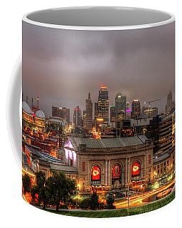 Union Station Sunrise 2 Kansas City Missouri Art  Coffee Mug