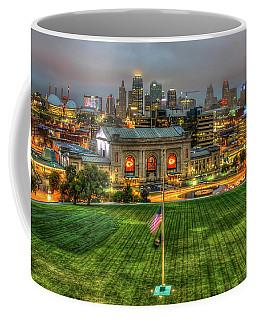 Union Station Sunrise Kansas City Missouri Art  Coffee Mug