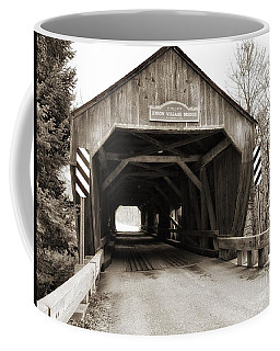 Union Village Covered Bridge Coffee Mug