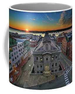 Coffee Mug featuring the photograph United States Custom House by Rick Berk