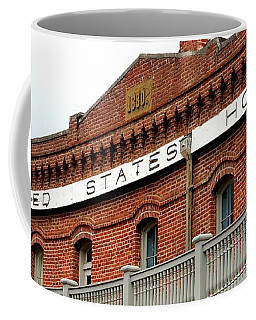 Coffee Mug featuring the photograph United States Hotel by Jerry Sodorff