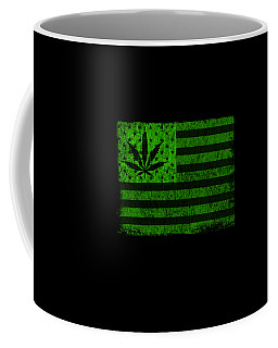United States Of Cannabis Coffee Mug