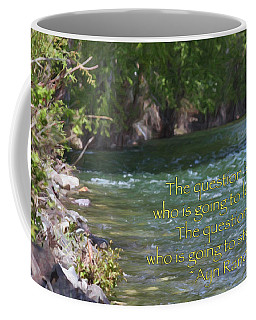 Unstoppable - Motivational Water Art By Omaste Witkowski Coffee Mug