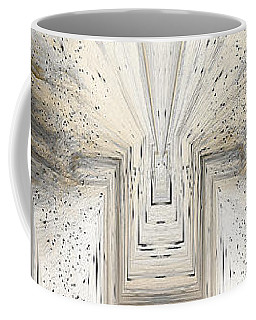 Coffee Mug featuring the digital art Untitled Abstract by Robert G Kernodle