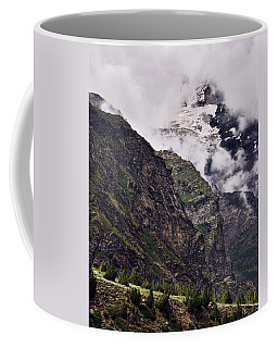 Coffee Mug featuring the photograph Up In The Clouds by Whitney Goodey