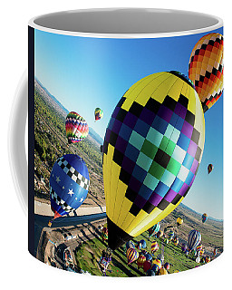 Coffee Mug featuring the photograph Up, Up, And Away by Mike Long