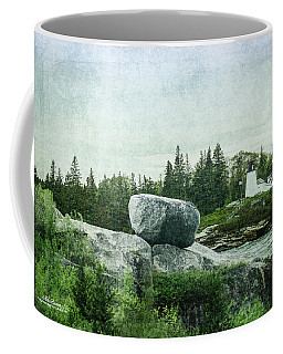 Coffee Mug featuring the photograph Upon This Rock by Mike Braun