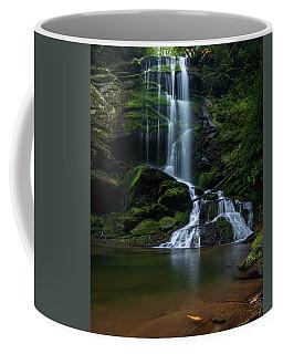 Upper Catawba Falls, North Carolina Coffee Mug