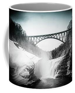 Upper Falls At Letchworth State Park Coffee Mug