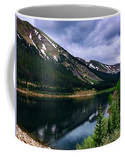 Coffee Mug featuring the photograph Urad Lake by Dan Miller