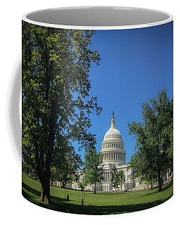 Coffee Mug featuring the photograph Us Capitol by Lora J Wilson