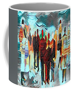 Coffee Mug featuring the digital art Us by Pennie McCracken