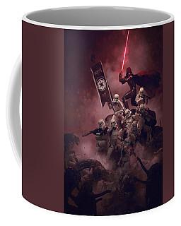 Vader Vs Aliens 2 Coffee Mug