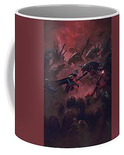Vader Vs Aliens 5 Coffee Mug