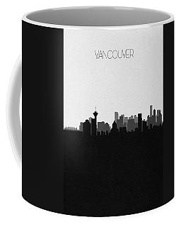 Vancouver Cityscape Art Coffee Mug