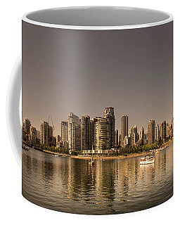 Vancouver Golden Light Hour Coffee Mug