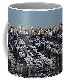 Coffee Mug featuring the photograph Vancouver In Winter No. 1 by Juan Contreras