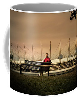 Vancouver Stadium In A Golden Hour Coffee Mug