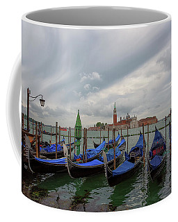 Coffee Mug featuring the photograph Venice Gondola's Grand Canal by Nathan Bush
