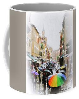 Venice In The Rain Coffee Mug