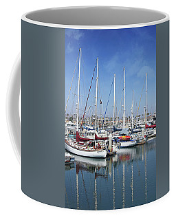 Ventura Harbor  By Linda Woods Coffee Mug