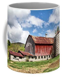 Vermont Barn And Silo  Coffee Mug