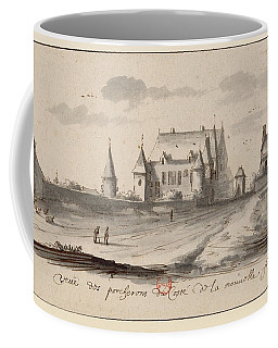 Veueof The Pigs Of The Coste Of The New France Coffee Mug