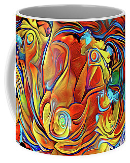 Coffee Mug featuring the digital art Vibrancy by Missy Gainer