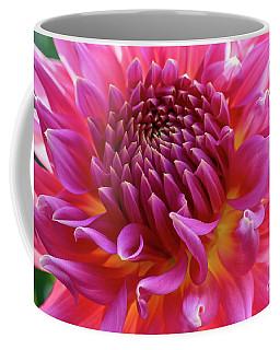 Vibrant Dahlia Coffee Mug