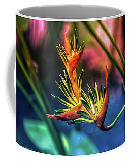 Vibrant Jungle Bird Coffee Mug