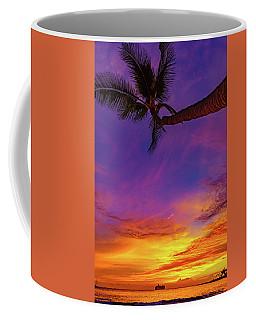 Vibrant Kona Inn Sunset Coffee Mug