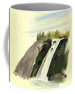 View Below The Falls Coffee Mug