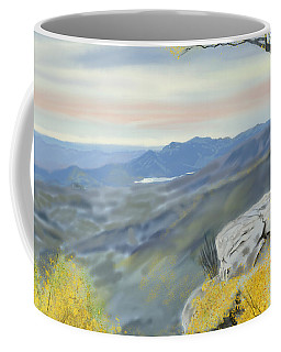 View From Caesars Head Coffee Mug