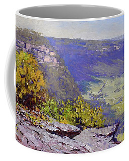 View From Hassons Wall Lithgow Coffee Mug