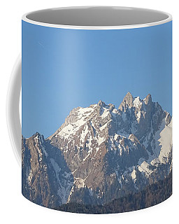 View From My Art Studio - Pilatus I - April 2019 Coffee Mug