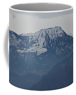 View From My Art Studio - Stanserhorn - March 2018 Coffee Mug