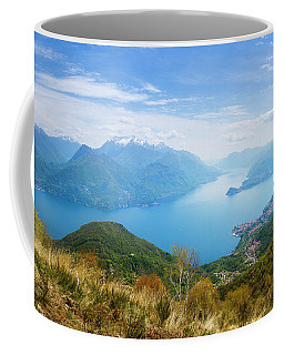 View From Rifugio Menaggio Lake Como Italy Coffee Mug