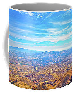 Coffee Mug featuring the photograph View From Squaw Butte, Id by Dart and Suze Humeston