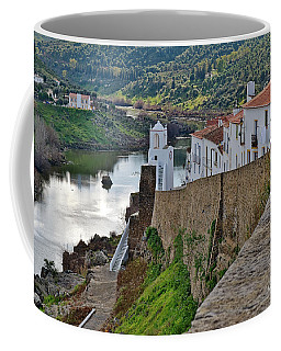 View From The Medieval Castle Coffee Mug