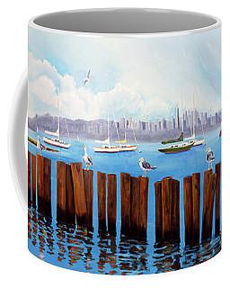 View From The Moshier's Tiki Bar Coffee Mug