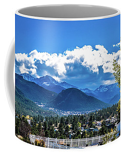 Coffee Mug featuring the photograph View From The Stanley by James L Bartlett