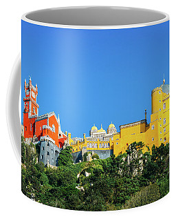 View Of Pena National Palace, Sintra, Portugal, Europe Coffee Mug